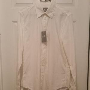 AX NWT Dress Shirt Sz. M